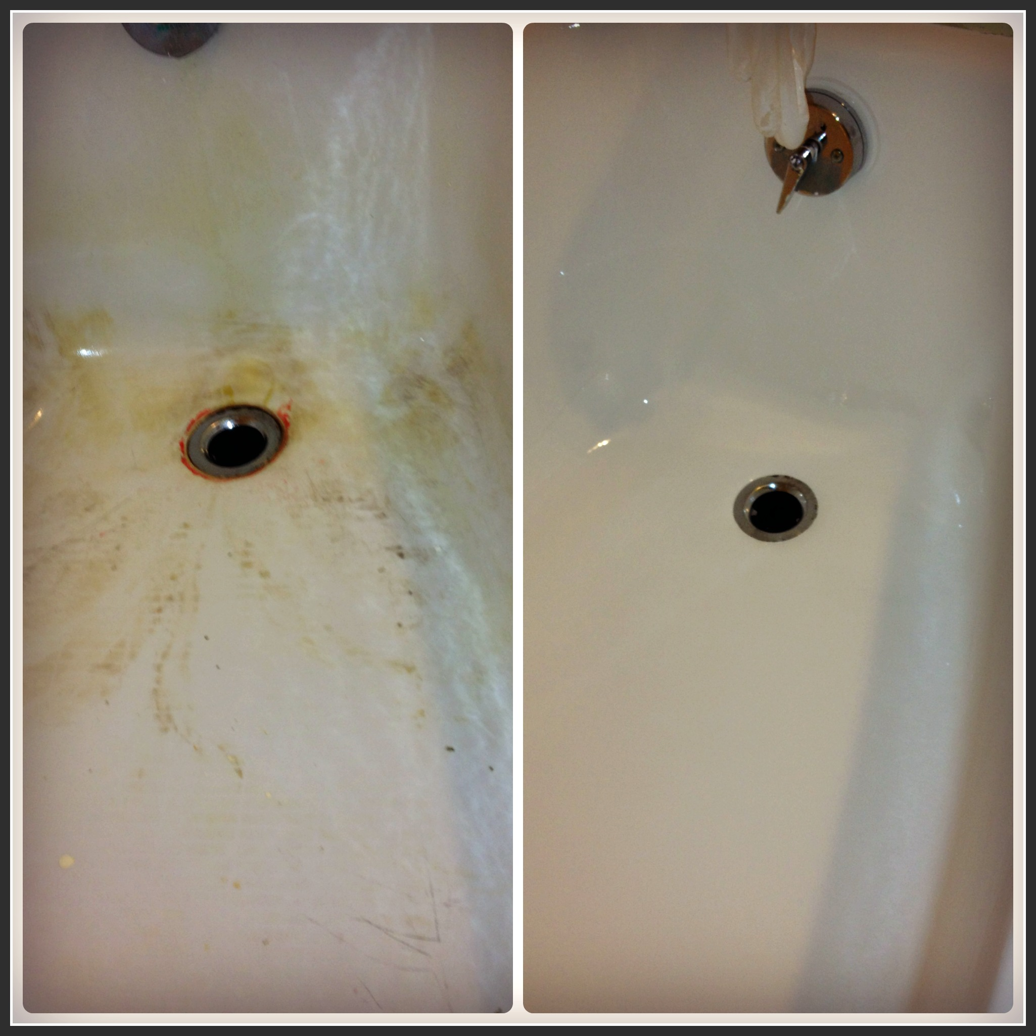 Beau Bathtub Refinishing Baltimore 3 Before And After